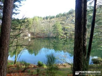 Cabeza Mediana y Camino de la Angostura; grupos senderismo madrid; club senderismo